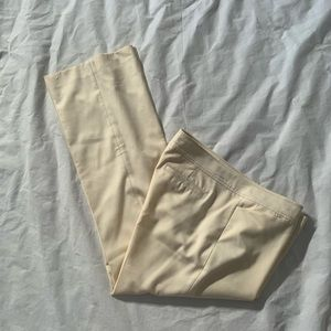 Lilly Pulitzer Size 12 Ivory 100% Wool Pants